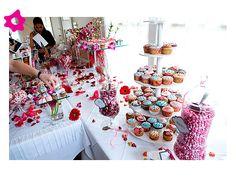 Mesa de dulces para boda variada