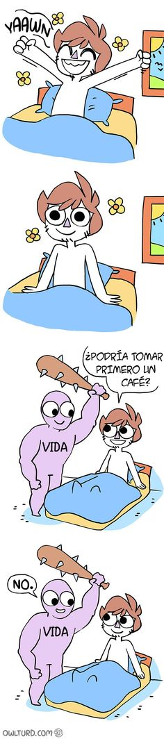comic vida café