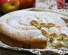ricetta Torta di mele a spirale, con ricotta e uvetta, buonissima