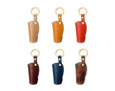 Mercedes_Benz. Handmade Buttero Leather Smart Key Cover/Case   -Handmade by: Custom Republic  -Leather: Vegetable leather from Conceria Walpier & Vera Pelle -Attachment pieces: 18K gold satin coating - Colors: natural, yellow, orange, brown, navy, and camouflage -Thread & Stitching: Serafil (from Germany)  -Measurement: 4.5 cm x 13.5 cm