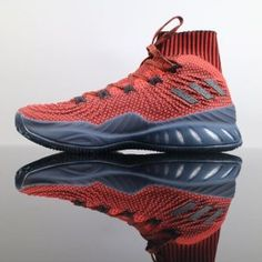 timeless design ea116 4125b Adidas Crazy Explosive Boost 2017 Primeknit Red Grey BY4468 Basketball Men  Footwear for Sale1 Usc Basketball