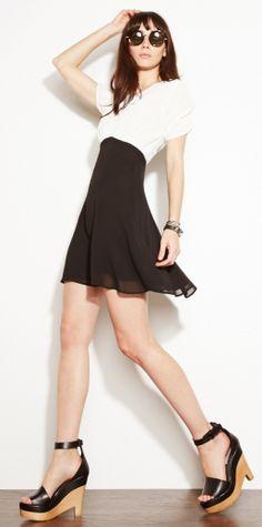 Reformation's Celeste Dress http://thereformation.com/CELESTE-DRESS-BLACK.html