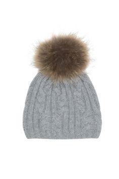 CAP LAPON GREY | Max & Moi Winter Hats, Beanie, Cap, Packing, Grey, Fashion, Cashmere Wool, Fur, Baseball Hat