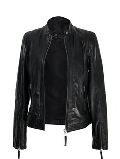 Leather jacket . Zerimar Spain