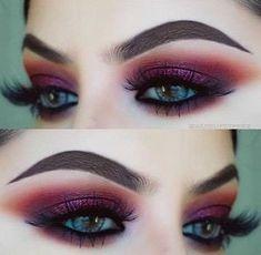 Makeup Goals, Love Makeup, Makeup Inspo, Makeup Art, Makeup Tips, Beauty Makeup, Makeup Ideas, Dress Makeup, Prom Makeup
