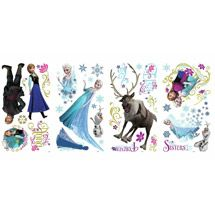 A great decorating idea for Frozen fans of all ages! Coordinate these stickers with the matching wall graphics of Anna, Elsa, and Olaf to create a full theme in any space. Frozen Movie, Frozen Party, Disney Frozen, Frozen Stuff, Frozen Theme, Frozen Wall Decals, Wall Stickers, Anna Et Elsa, Elsa Olaf