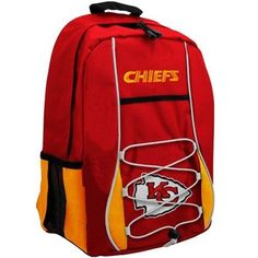 Kansas City Chiefs Scrimmage Style Red Back Pack