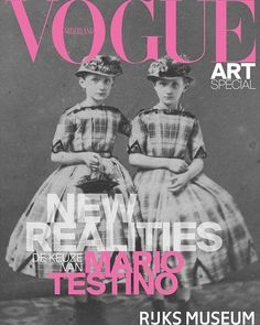 Vogue Netherlands is proud to present the very first Vogue Art Special together with @Rijksmuseum and the legendary @MarioTestino! In the Vogue Art Special Mario Testino as guest editor in chief selected his favorite photography shown in the new exhibition 'New Realities. Photography in the 19th Century' of the Rijksmuseum along with highlights from his own work. Find the Vogue Art Special as a supplement with Vogue's Summer July/August issue which hits stores on June 22 and go see the…