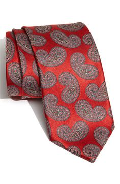 Ermenegildo Zegna Woven Silk Tie available at Nordstrom