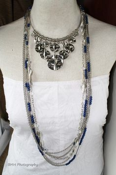 New Sensation Necklace (around the neck) True Colors long necklace. Get these for FREE billn9638@msn.com
