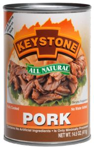 Keystone All Natural Pork - Canned