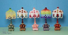 Miniature Beaded Lamps used Cath Thomas's petal technique. Designed & Beaded by Moontique. More at: https://www.facebook.com/Moontiques/photos/ms.c.eJxFkNuNBFAIQjvaqNdn~;41NVgbn8wRQcTwnza0rRO39DbhN~_nkoWaE72aDXcbhmjXy5~;d8vzXz6~_l~_Qa~;153GDOz4Sf94TsfqU~;dHVv8my~_fv7lNvKDPuRC~;vQB8~;7o3Sfs17K6Mt~;Yr9zf6B~;X~;6E~;5xf~_ZXW8~_vDewj12~;sS85D~_Qf~;UBnlJYbg~-~-.bps.a.946962398750126.1073741851.124750080971366/946962428750123/?type=3&theater