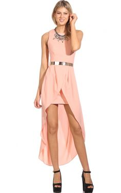 Party dresses > ONE GOOD REASON DRESS IN PEACH