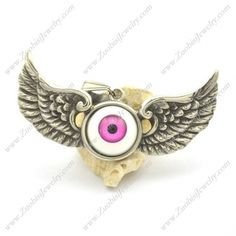 Purple Eyeball Angel Wing Pendant p002194 @ US$ 4.24