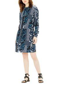 Warehouse  Prairie Print Tie Waist Dress £49.00 #BestPrice #newarrivals #ShoppingSale
