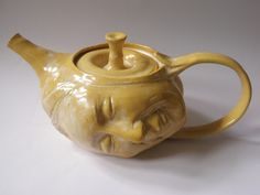 Face Sculpture Teapot