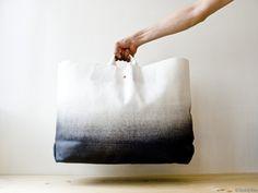 Ombre canvas bag