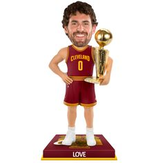 Cleveland Cavaliers Kevin Love 2016 NBA Finals Champions Bobblehead