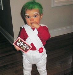Oompa loompa! 10 best cute food homemade Halloween costume ideas for baby