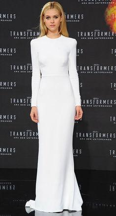 Nicola Peltz - Stella McCartney dress white-crop