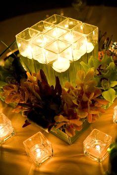 fantastic visual texture. perfect square vases.