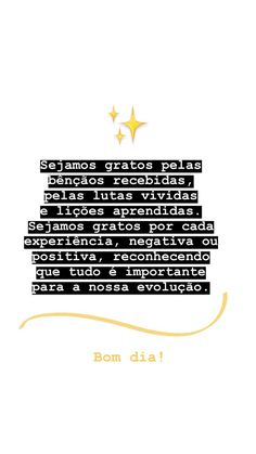 Ana Júlia Simões's media content and analytics Story Instagram, Instagram Blog, Motivational Phrases, Inspirational Quotes, Quotes Lockscreen, Happy Week End, Insta Story, Positive Vibes, Texts