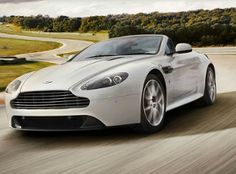 Aston Martin V8 Vantage Roadster Sportshift - Lifting the lid on an extreme sports car.