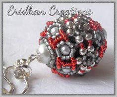 Beaded Bead Tutorial from our guest artist Justyna of Eridhan Creations!