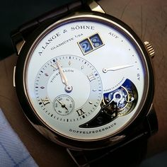 The A. Lange One Tourbillon.
