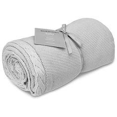 Sheridan- Baby elliot fog cot blanket | Peter's of Kensington