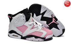 Fast Shipping To Buy White/Pink AIR JORDAN 6 RETRO Womens