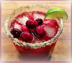 Napa Farmhouse 1885™: Cranberry Margaritas (Perfect for your Holiday Parties)