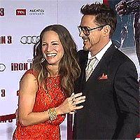 Iron Man 3, Hollywood Premiere (gif)
