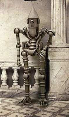 """Untitled from the """"Mechanical Brides of the Uncanny"""" (c.2011) by artist & photographer Edward Bateman. via Monster Crazy"""