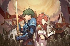 Fire Emblem Echoes: Shadows of Valentia - info on classes/enemies characters DLC & more plus new screens Classes: - Fighter (Alm) - Villager - Cavalier - Mercenary - Soldier - Mage (female) - Mage (male) - Priestess - Cleric - Pegasus Knight - Archer - Paladin - Myrmidon - Knight - Saint - Falcon Knight - Sniper - Sage - Gold Knight - Dread Fighter - Barron - Bow Knight Enemy units - Brigand - Arcanist - Witch - Shaman - Revenant - Bonewalker - Mogall - Gargoyle - Majin - Draco Zombie…