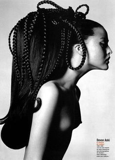 Just like Vreeland's 60s at Vogue, devon aoki photographed by richard avedon
