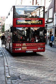 Red Bus Sightseeing, Münster Germany  - #Muenster