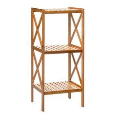 50€ Estantería 3 baldas bamboo. #estantería #balda #bamboo #madera # Deskontalia Productos - Descuentos del 70%