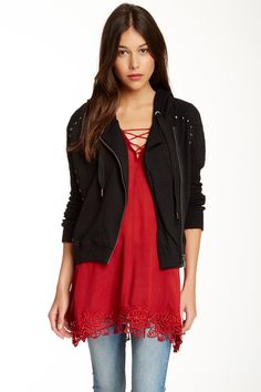 Ring My Bell Hooded Jacket by Free People on @HauteLook