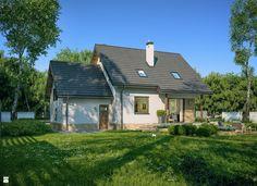 Projekt Domu - Murator C214c - Dom na rozstaju wariant III - zdjęcie od Murator PROJEKTY - Domy - Styl Tradycyjny - Murator PROJEKTY