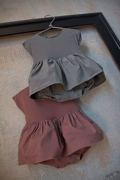 Album di Famiglia Store; soooo cute, skirted onesie in a rich solid color. it would be easy to DIY this by sewing on a white jersey skirt to a plain white onesie and then dyeing with RIT or similar. #babyclothesgirl