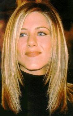 Famous Jennifer Aniston Hair Style - Jennifer Aniston