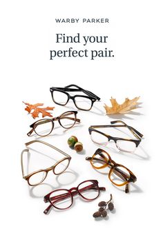 Shop our latest styles from our Fall Collection through our free Home Try-On program. 5 pairs, 5 days, 100% free. Find your perfect pair today!