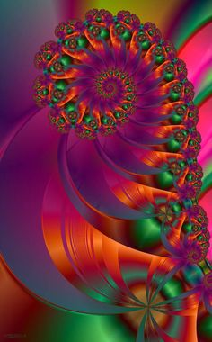 Christmas Candy by Shadoweddancer on DeviantArt Fractal Geometry, Fractal Art, Sacred Geometry, Bright Colors Art, Zen Pictures, Velvet Glove, Iphone Wallpaper Fall, Advertising Photography, Christmas Candy