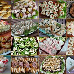 Appetizer Salads, Appetizer Recipes, Korean Street Food, Snacks Für Party, Food Design, Food Pictures, Food Videos, Cookie Recipes, Catering