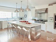 These kitchen islands are much more than just extra counter space.