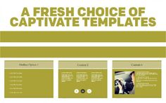What do you do when you're looking for a fresh look to your latest Adobe Captivate course? Take a look at the over 300 eLearning templates we provide in the Assets section of Adobe Captivate 9, of course!