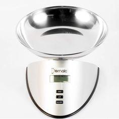 $109.900 Balanza Digital de Cocina con Bowl en Acero Inoxidable y Capacidad de 5Kg y 1 l.