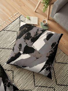 """Organic No.1 Abstract #muted #redbubble #artprints #fineart"" Floor Pillow by MenegaSabidussi | Redbubble"