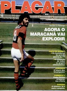 Socrates joins Flamengo, September 1985.